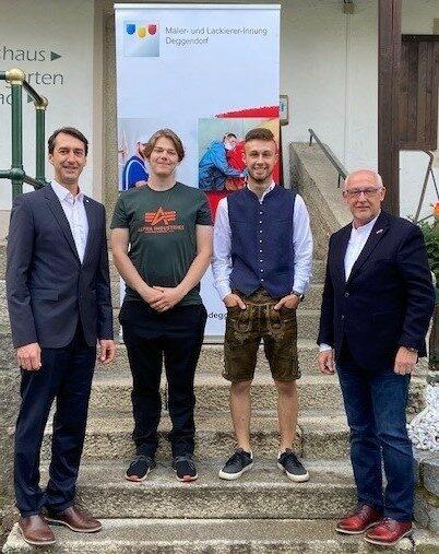 Freisprechungsfeier der Maler- und Lackierer-Innung Deggendorf am 28.07.2021