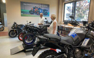 Eröffnung der neuen Yamaha Werkstatt in der Berufsschule 1 Straubing